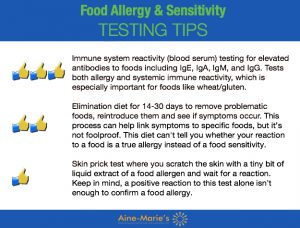 Food Allergy Testing Tips