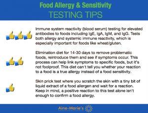 Food Allergy Testing Tips